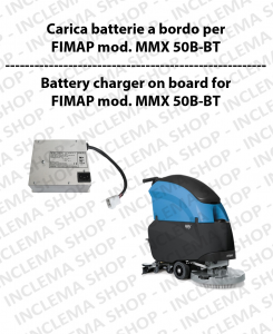 Caricabatteria a Bordo per lavapavimenti FIMAP mod. MMX 50 B-BT