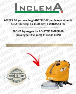 Gomma tergi ANTERIORE per lavapavimenti ADIATEK AMBER 66 (tergi da 1150 mm)