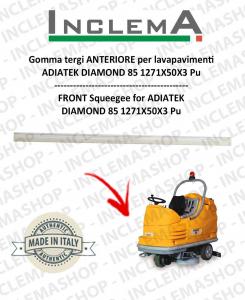 Gomma tergi ANTERIORE per lavapavimenti  ADIATEK DIAMOND 85
