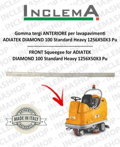 Gomma tergi ANTERIORE per lavapavimenti  ADIATEK DIAMOND 100 Standard Heavy