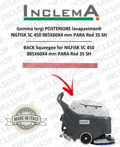 Gomma tergi POSTERIORE per lavapavimenti Nilfisk SC 450
