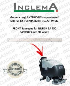 Gomma tergi ANTERIORE per Nilfisk BA 750