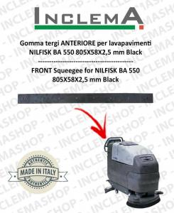 Gomma tergi ANTERIORE per Nilfisk BA 550