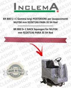 BR 800 S+C Gomma tergi POSTERIORE per lavapavimenti NILFISK
