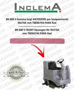 BR 600 S Gomma tergi ANTERIORE per lavapavimenti NILFISK