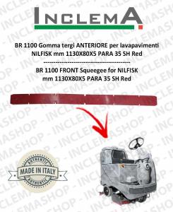 BR 1100 Gomma tergi ANTERIORE per lavapavimenti NILFISK
