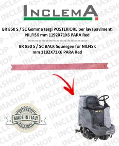 BR 850 S / SC (From s/n 1819568) Gomma tergi POSTERIORE per lavapavimenti NILFISK