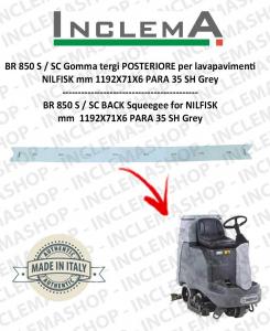 BR 850 S / SC (From s/n 1819567) Gomma tergi POSTERIORE per lavapavimenti NILFISK