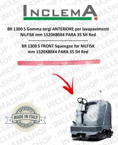 BR 1300 S Gomma tergi ANTERIORE per lavapavimenti NILFISK