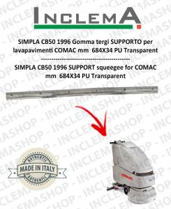 SIMPLA CB50 1996 Gomma tergi SUPPORTO per  lavapavimenti COMAC