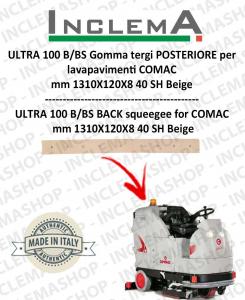 ULTRA 100 B/BS Gomma tergi POSTERIORE per lavapavimenti COMAC