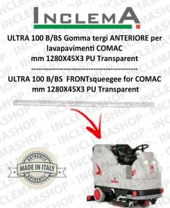 ULTRA 100 B/BS Gomma tergi ANTERIORE per lavapavimenti COMAC