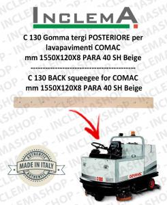 C 130 Gomma tergi POSTERIORE per lavapavimenti COMAC