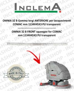 OMNIA 32 B Gomma tergi ANTERIORE per lavapavimenti COMAC