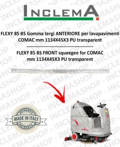 FLEXY 85 BS Gomma tergi ANTERIORE per lavapavimenti COMAC