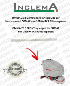 OMNIA 26 B Gomma tergi ANTERIORE per lavapavimenti COMAC