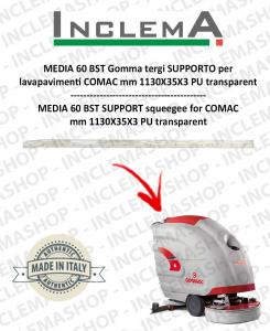 MEDIA 60 BST Gomma tergi SUPPORTO per lavapavimenti COMAC