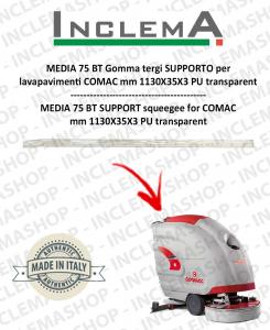 MEDIA 75 BT Gomma tergi SUPPORTO per lavapavimenti COMAC