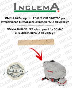 OMNIA 26 Paraspruzzi POSTERIORE SINISTRO per lavapavimenti COMAC