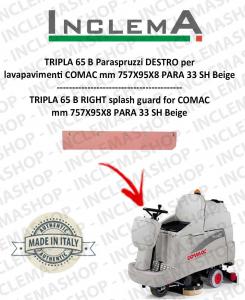 TRIPLA 65 B Paraspruzzi DESTRO per lavapavimenti COMAC