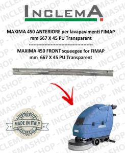 MAXIMA 450 Gomma tergi ANTERIORE per lavapavimenti FIMAP