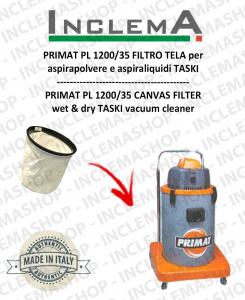 PRIMAT PL 1200/35 FILTRO TELA PER aspirapolvere TASKI