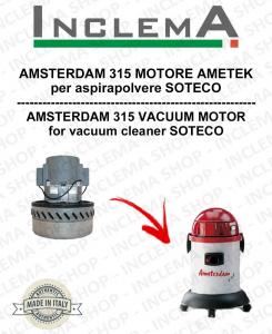 AMSTERDAM 315 MOTORE ASPIRAZIONE AMETEK per aspirapolvere SOTECO