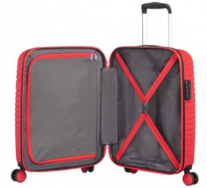 Trolley American Tourister Aero Racer Spinner 55 poppy red ...