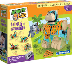 Maker lab - Animali in movimento a partire dei 5 anni Clementoni