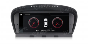 ANDROID 9.0 navigatore per BMW Serie 3 E90/E91/E92 BMW Serie 5 E60/E63/E64 Sistema originale CCC WI-FI GPS 4G LTE Bluetooth MirrorLink