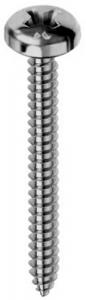 Set 200  Vite Autofilettante Inox Testa Cilindrica Croce 4,2X25 E-100 Bulloneria-Viteria