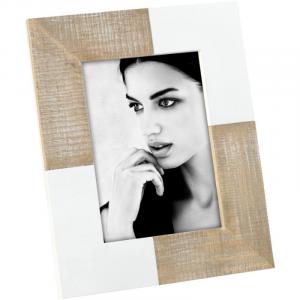 MASCAGNI CASA Cornice Portafoto In Legno Bianco Formato 13X18 Cornici Classiche