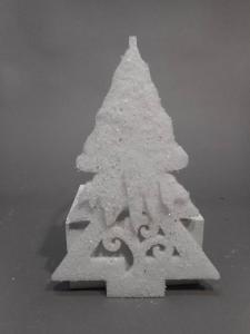 TABOR Pinetto Bianco Append.H.30Cm Natale Alberi - Sfere E Palline