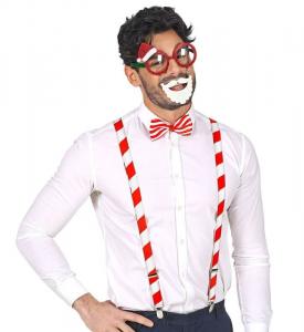 WIDMANN Babbo Natale (Occhiali, Bretelle, Farfallino) Party E Carnevale Costume