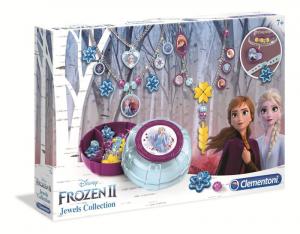 CLEMENTONI Frozen 2 Jewels Collection New Perline E Creazione Di