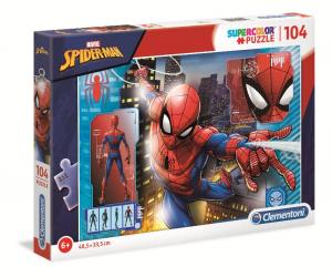 CLEMENTONI Puzzle 104 3 Spider-Man Puzzle