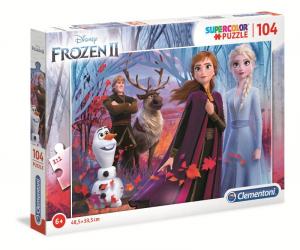 CLEMENTONI Puzzle 104 Pz Frozen Ii Puzzle