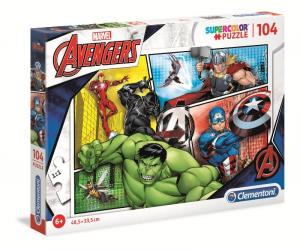 CLEMENTONI Puzzle 104 Avengers 2019 Puzzle