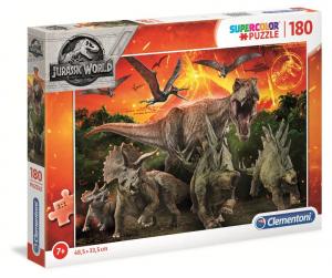 CLEMENTONI Puzzle 180 Jurassic World Puzzle