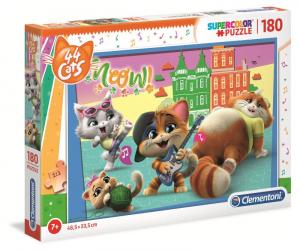 CLEMENTONI Puzzle 180 44 Cats Puzzle