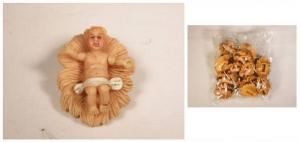 CIULLI MARIO Busta 12 Bamb.C/Culla 10241 Natale Presepe - Personaggi E Animali
