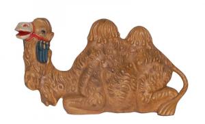 EUROMARCHI Cammello Cm 12 Seduto Colore Legno Natale Presepe - Personaggi