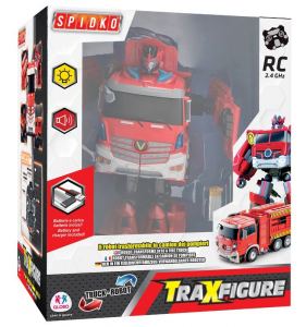 GLOBO R/C Traxfigure Camion>Robot C/Luce/Li-Po Battery P Personaggi E Playset