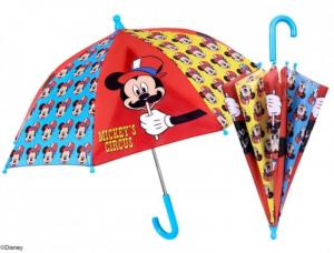 PERLETTI Ombrello Manuale Topolino Ombrelli Da Bambino (Personaggi)