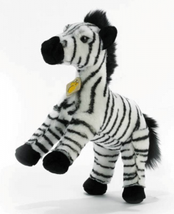 PLUSH & Zippy Zebra - Altezza 27 Cm Peluches Animali Del Bosco, Foresta