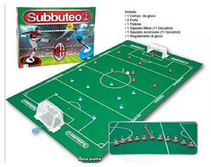 GIOCHI PREZIOSI Subbuteo Playset Milan Giochi Da Tavolo Giochi Sportivi