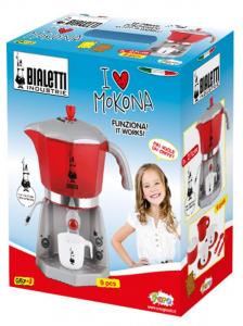 TOYS-MARKET Mokona Bialetti Con Accessori Cucina E Supermercato - Set