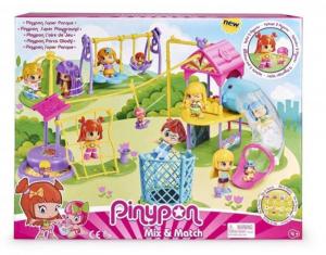 FAMOSA Pinypon Superplayground - Parco Giochi Personaggi E Playset Femminili