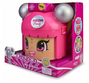 FAMOSA Pinypon Mix Is Max Neon Party Personaggi E Playset Femminili