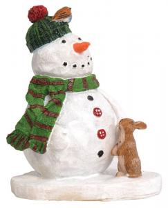 EDELMAN Melty Il Pupazzo Di Neve - L5,5Xw4,5Xh7Cm Natale Decorazioni